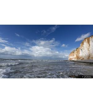 Lumières d'Octobre sur la côte Normande