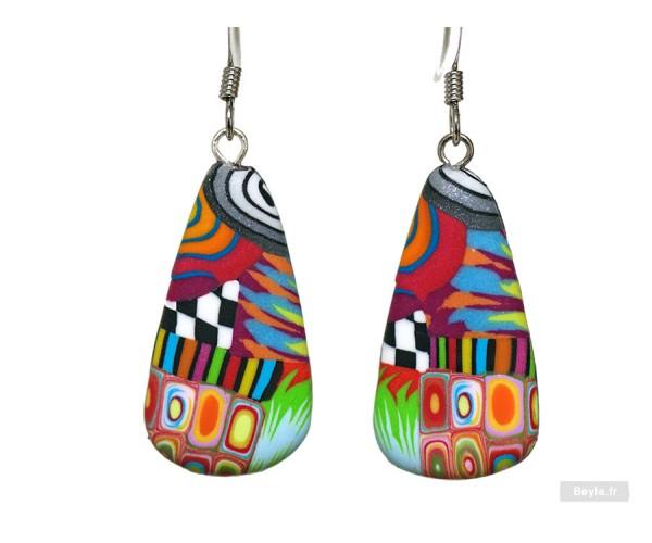 Boucles d'oreilles Menhir